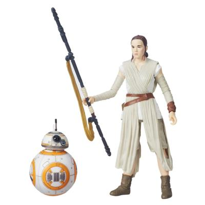 Rey and BB8 figurines